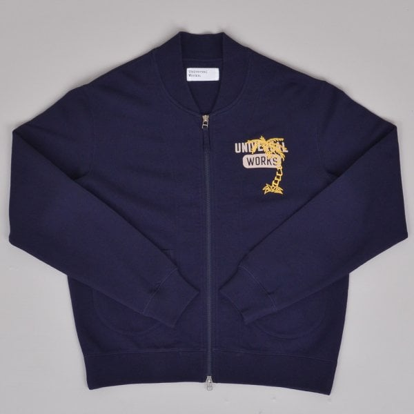 Universal Works No Bad Days Carbis Jacket - Navy