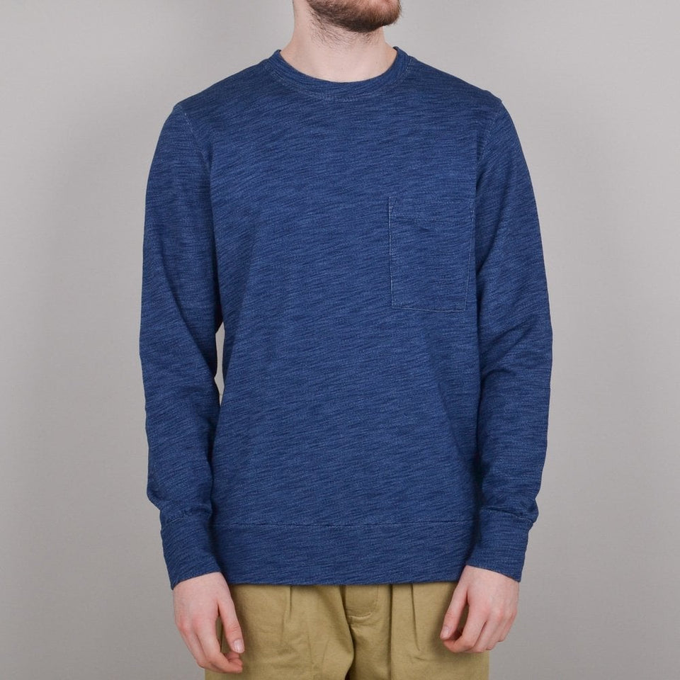 Universal Works Loose Pullover - Indigo