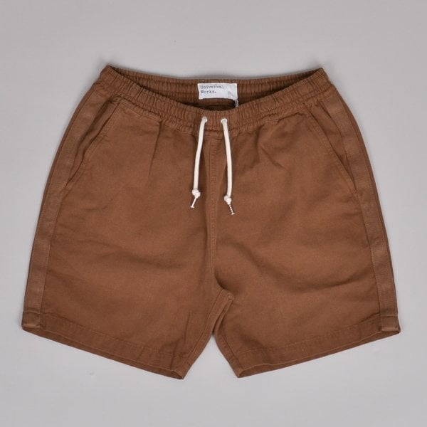 Universal Works Beach Short - Khaki