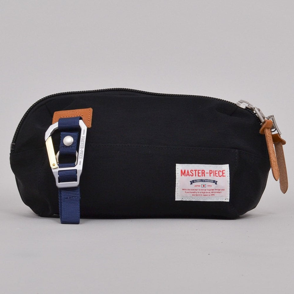Master-Piece Link Series Waist Bag - Black