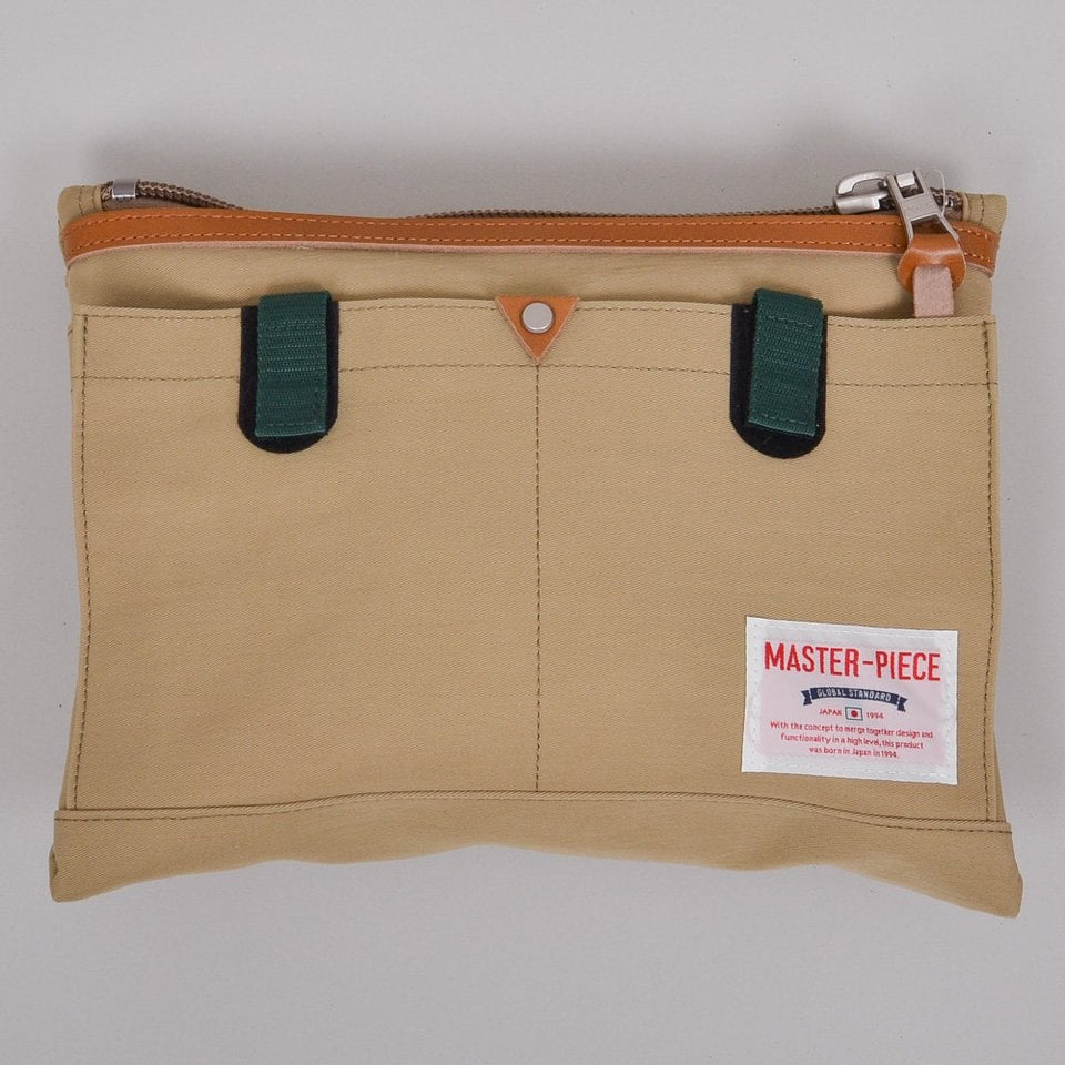 Master-Piece Link Series Shoulder Bag - Beige