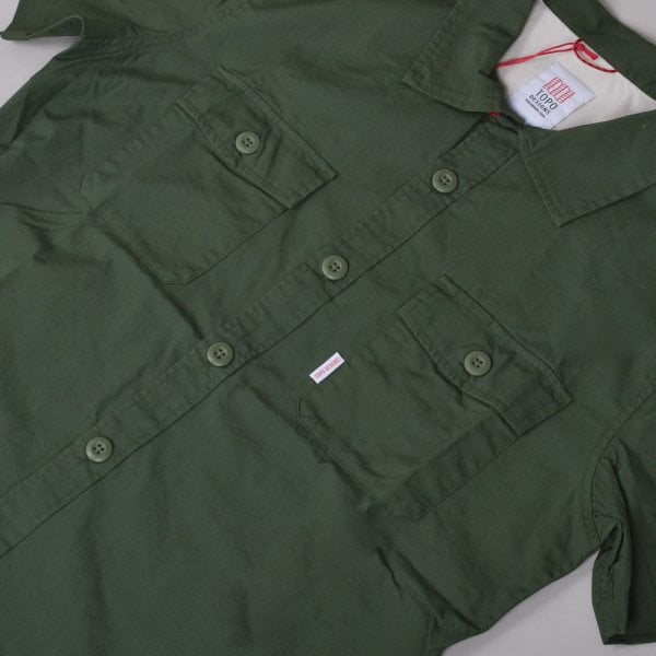 Topo Designs S/S Field Shirt - Olive