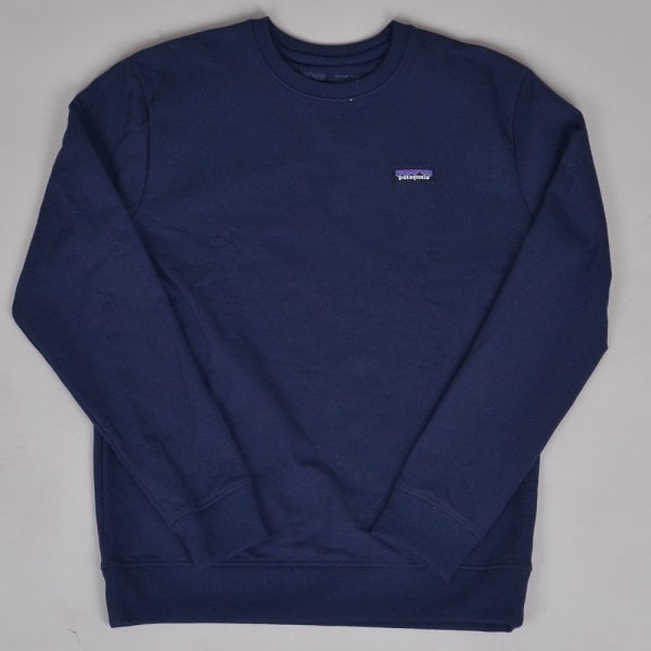 Patagonia P-6 Label Uprisal Crew Sweatshirt - Navy