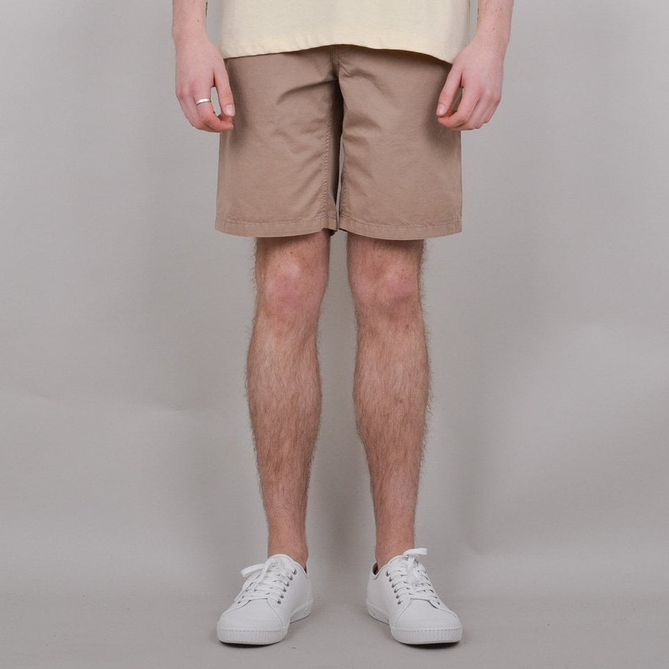 Norse Project Aros Light Twill Shorts - Utility Khaki