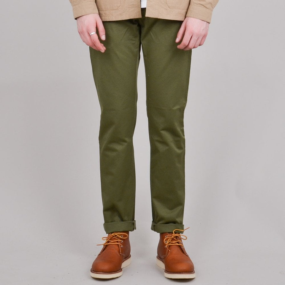 Edwin 55 Chino - Military Green