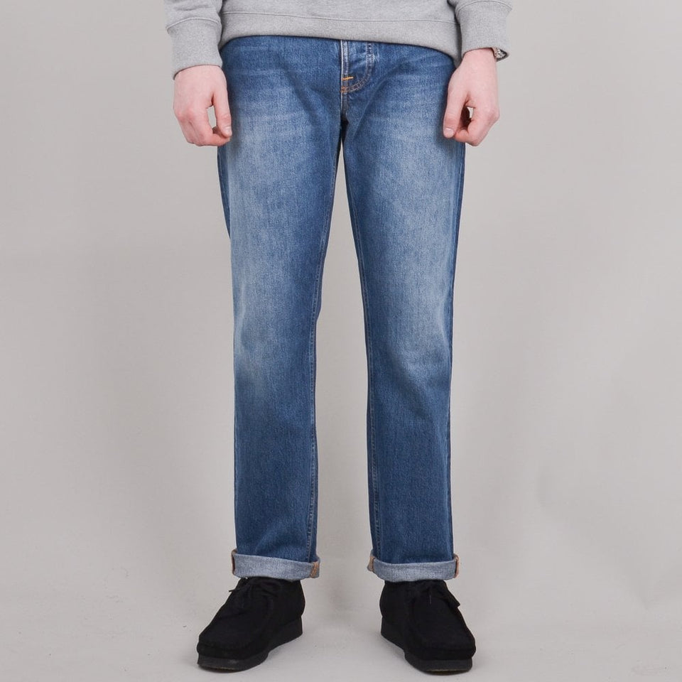Nudie Jeans Sleepy Sixten - Celestial Orange