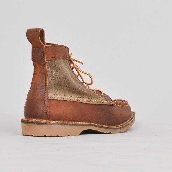 Red Wing Wacouta Canvas Moc - Copper