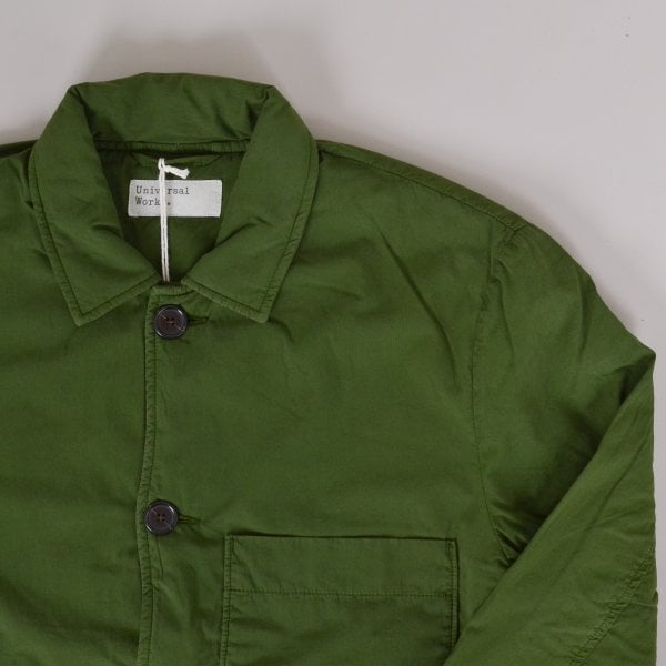 Universal Works Simple Bakers Jacket - Green