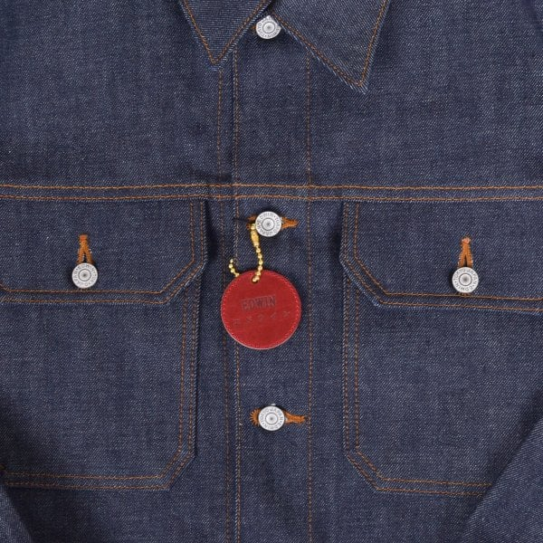 Edwin Kaihara Denim Jacket - Raw Unwashed