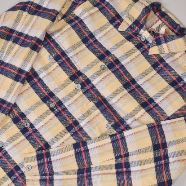 Nigel Cabourn USMC Shirt - Yellow Check