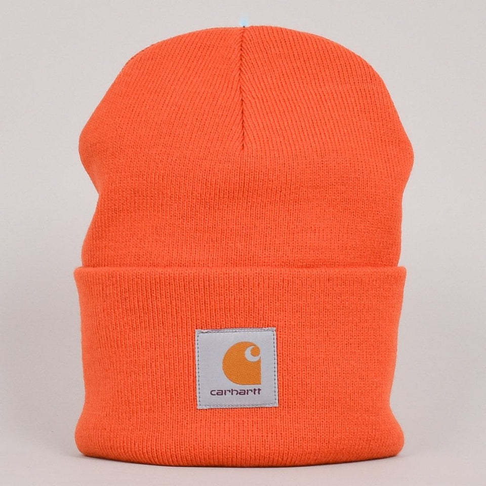 Carhartt WIP Acrylic Watch Hat - Brick Orange
