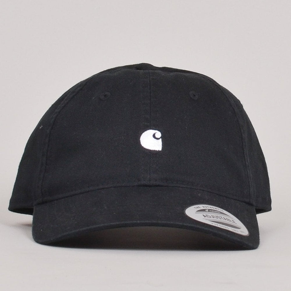 Carhartt WIP Madison Logo Cap - Black/White