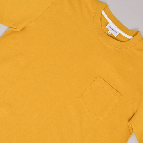 Norse Projects Johannes Pocket SS - Montpellier Yellow