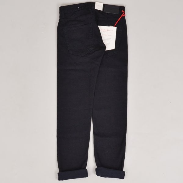 Hawksmill Denim Co Tapered Candiani Selvedge - Black