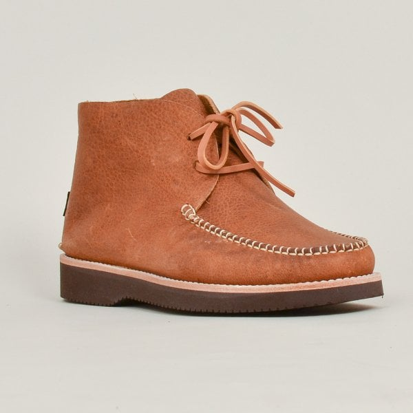 Yogi Lucas Moccasin Boot Tumbled Leather - Tan