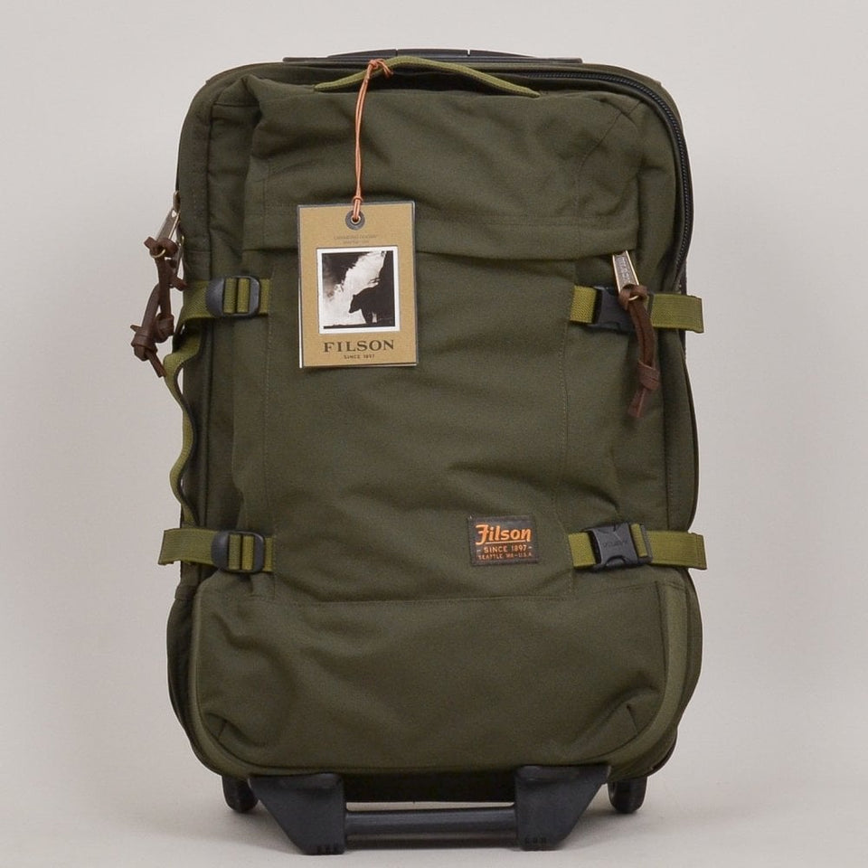 Filson Dryden 2-Wheel Carry On Bag - Otter Green
