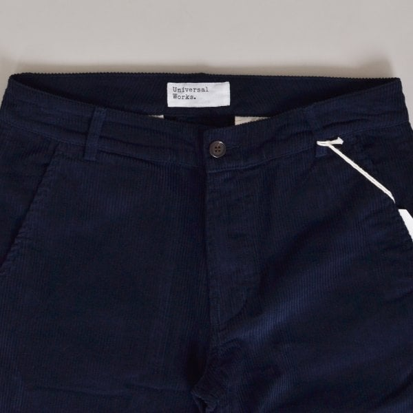 Universal Works Aston Pant Cord - Navy