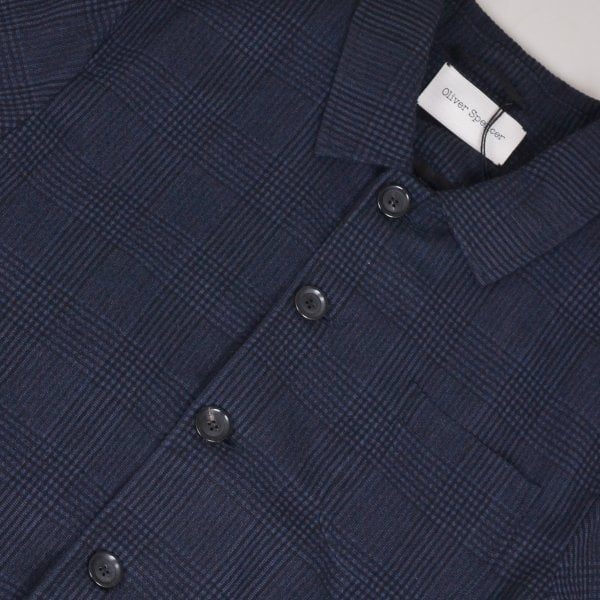 Oliver Spencer Foxham Jacket - Navy Forster