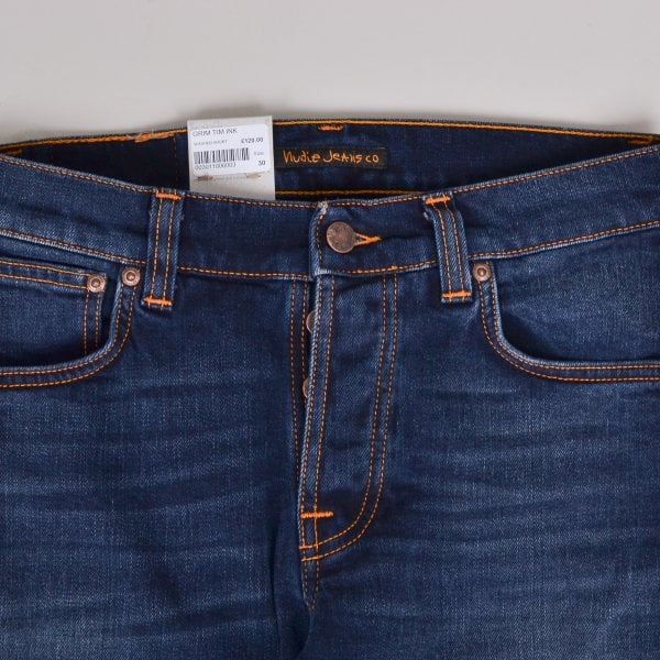 Nudie Jeans Grim Tim - Ink Navy