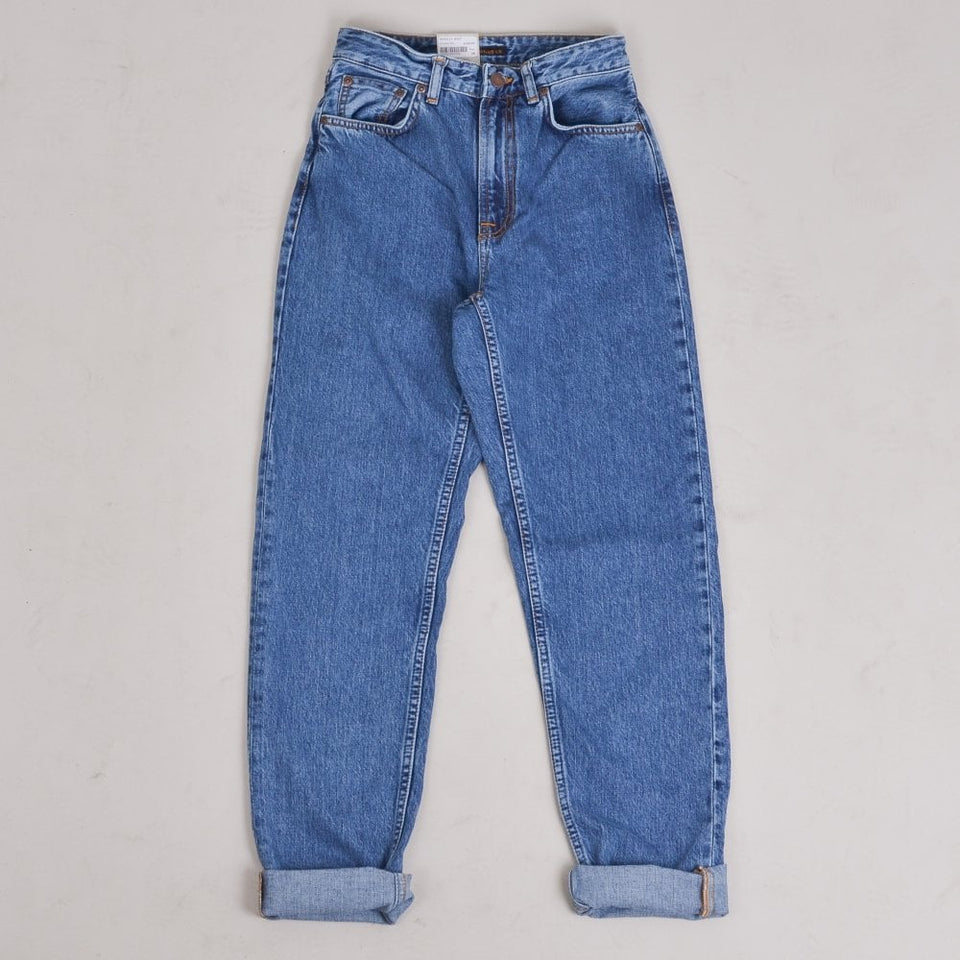 Nudie Jeans Breezy Britt - Friendly Blue