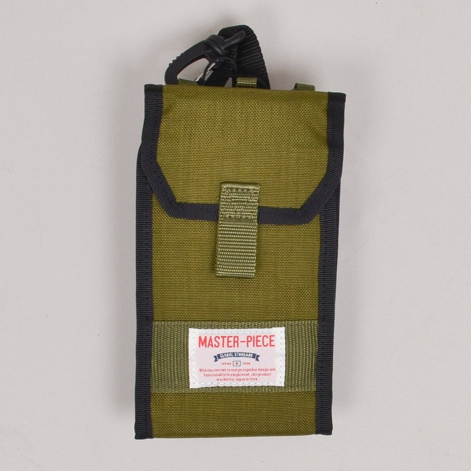 Master-piece Quick Shoulder Pouch - Khaki
