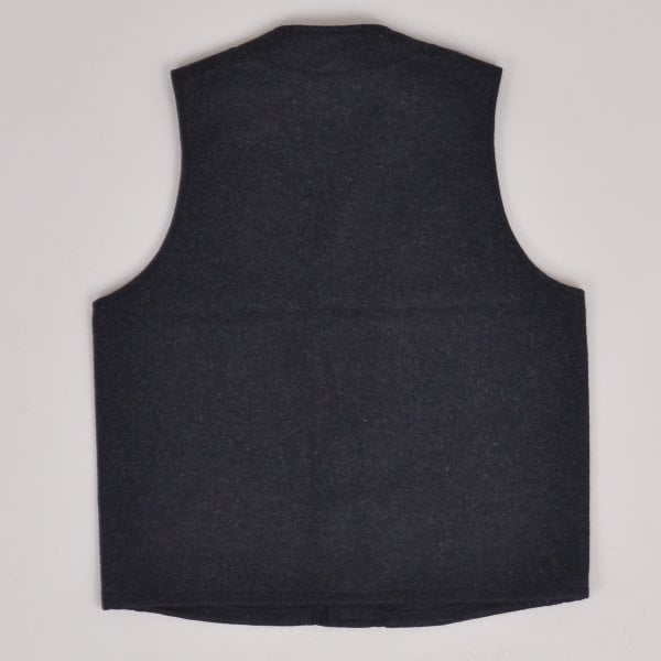 Filson Mackinaw Wool Vest - Charcoal
