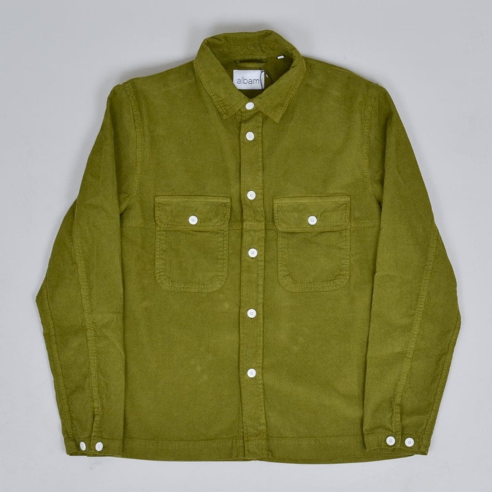 Albam GD Cord Shirt - Fir