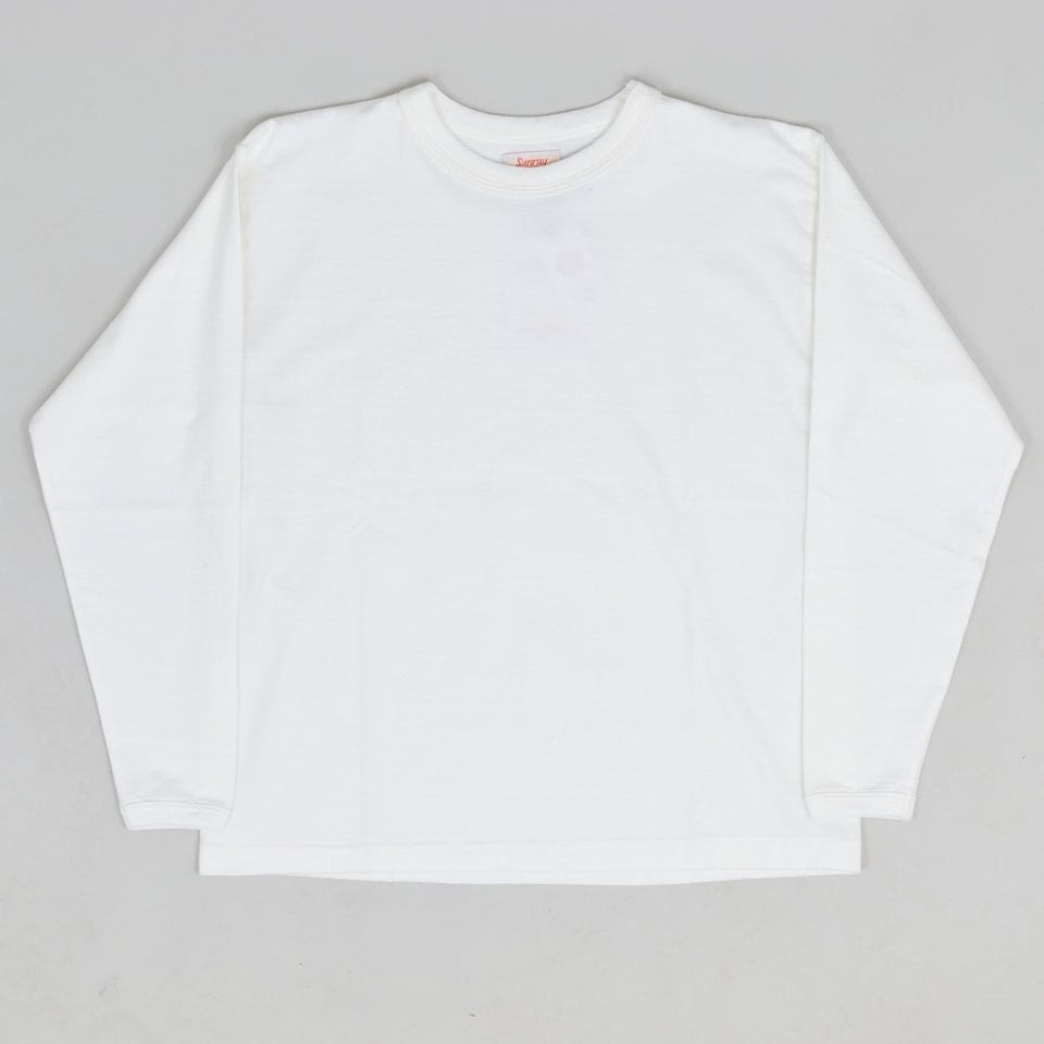 Sunray Sportswear Makaha Long Sleeve T-shirt - Off White