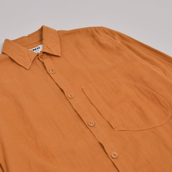 YMC D Pocket Shirt - Brown