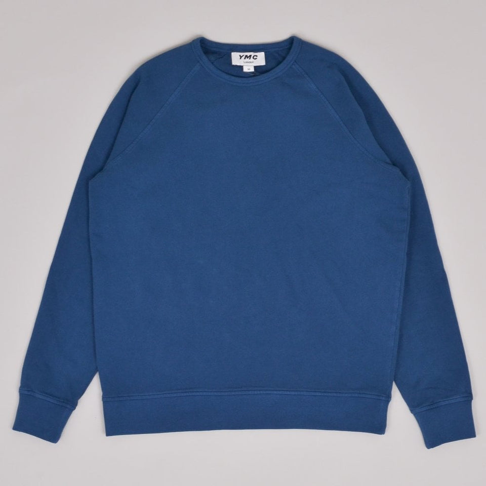 YMC Schrank Raglan Sweat - Blue
