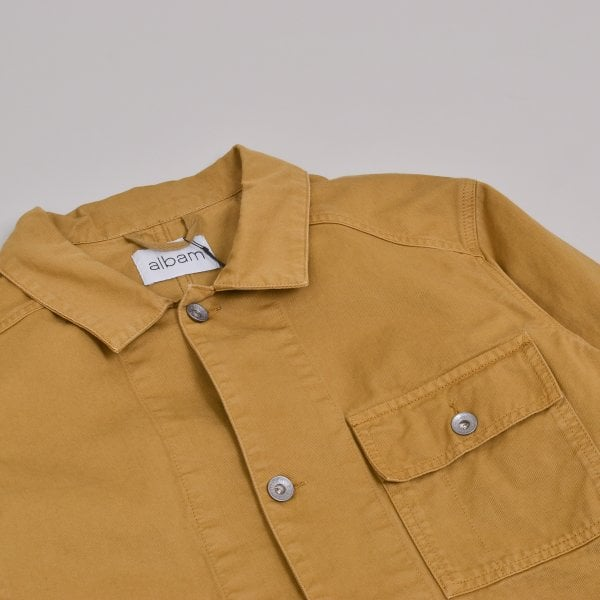 Albam GD Twill Carpenters Jacket - Tobacco