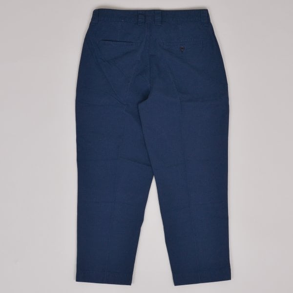 Albam GD Ripstop Pleated Trouser - Navy