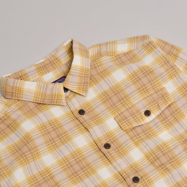 Patagonia LW Fjord Flannel Shirt - Surfboard Yellow