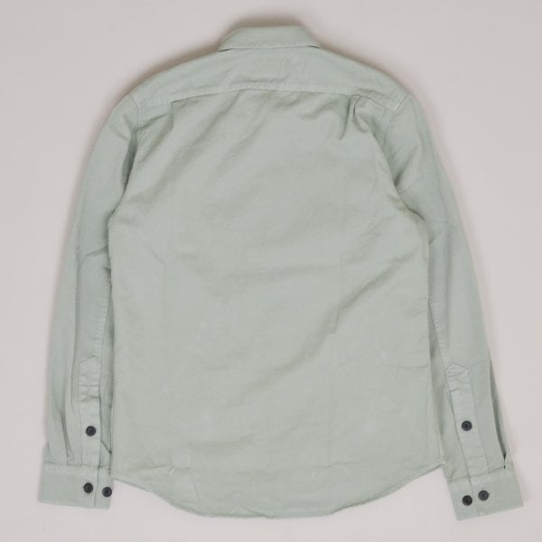 Nudie Jeans Henry Pigment Dyed Shirt - Pale Green