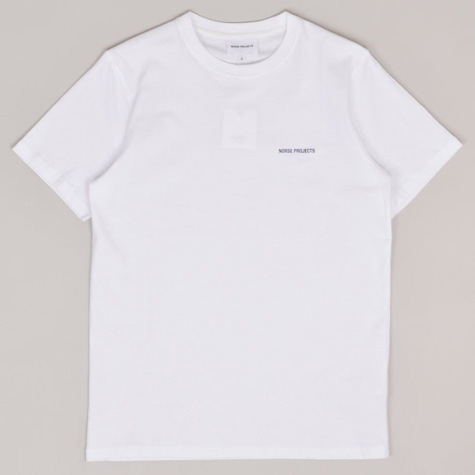 Norse Projects Niels Logo T-shirt - White