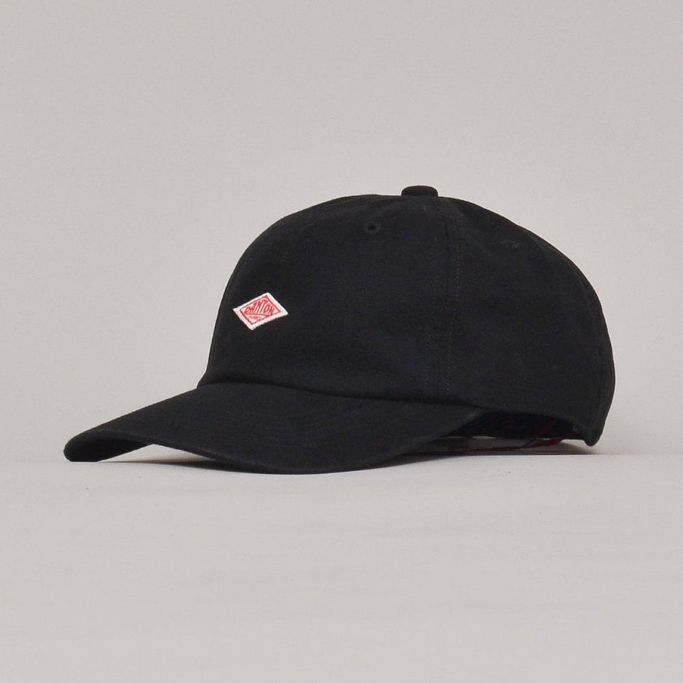 Danton Cap Cotton Twill - Black