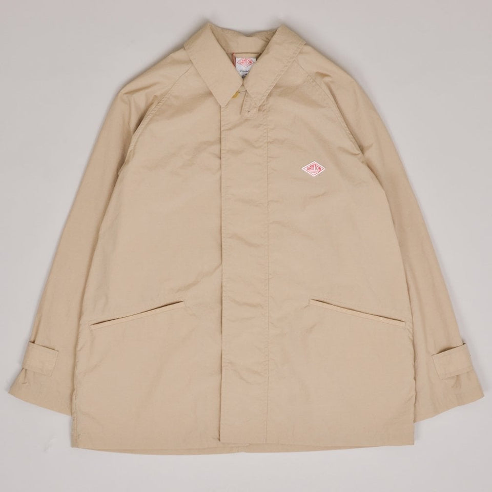 Danton Long Jacket - Sand Beige