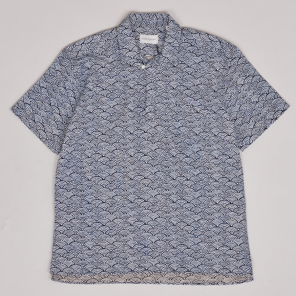 Oliver Spencer Yarmouth Shirt - Navy