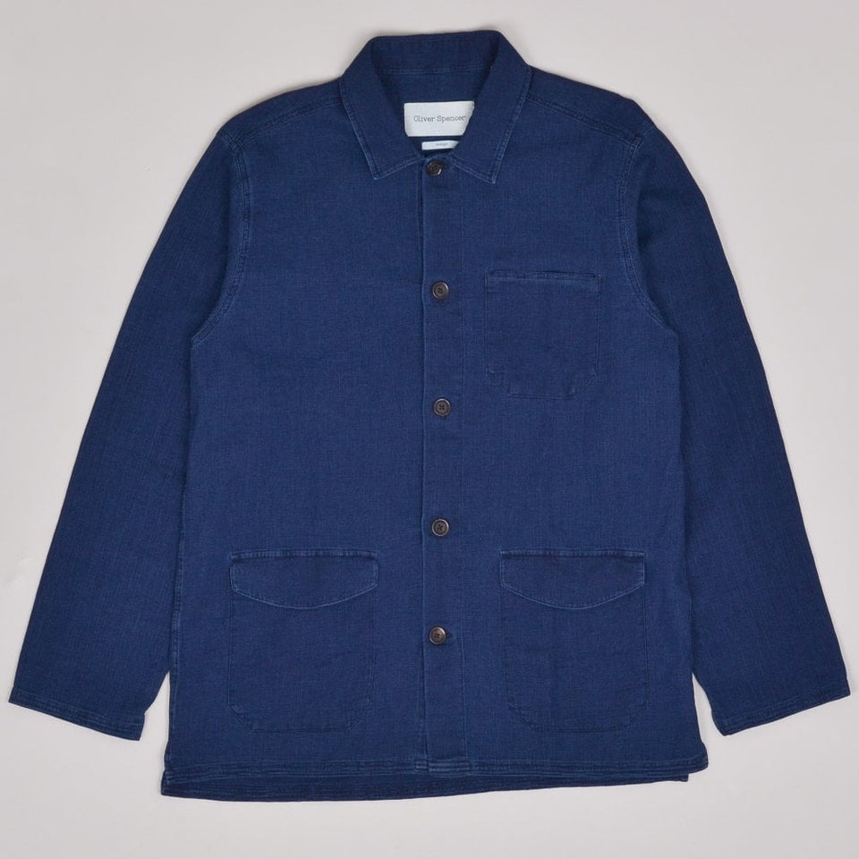 Oliver Spencer Hockney Jacket - Indigo Rinse
