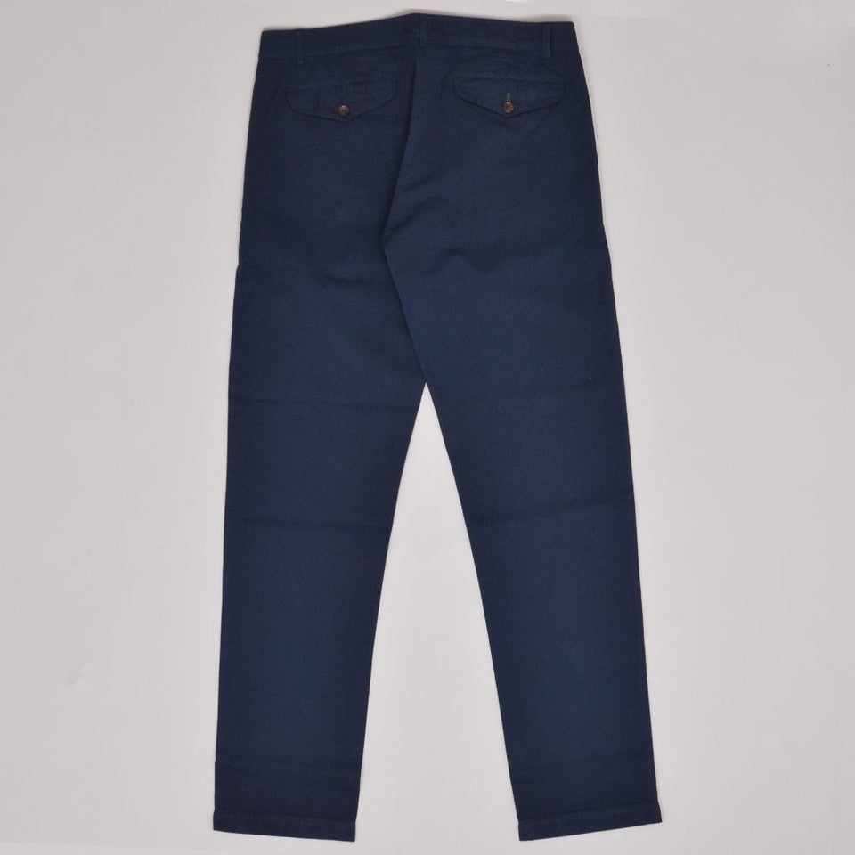 Universal Works Aston Pant Linen Cotton - Navy