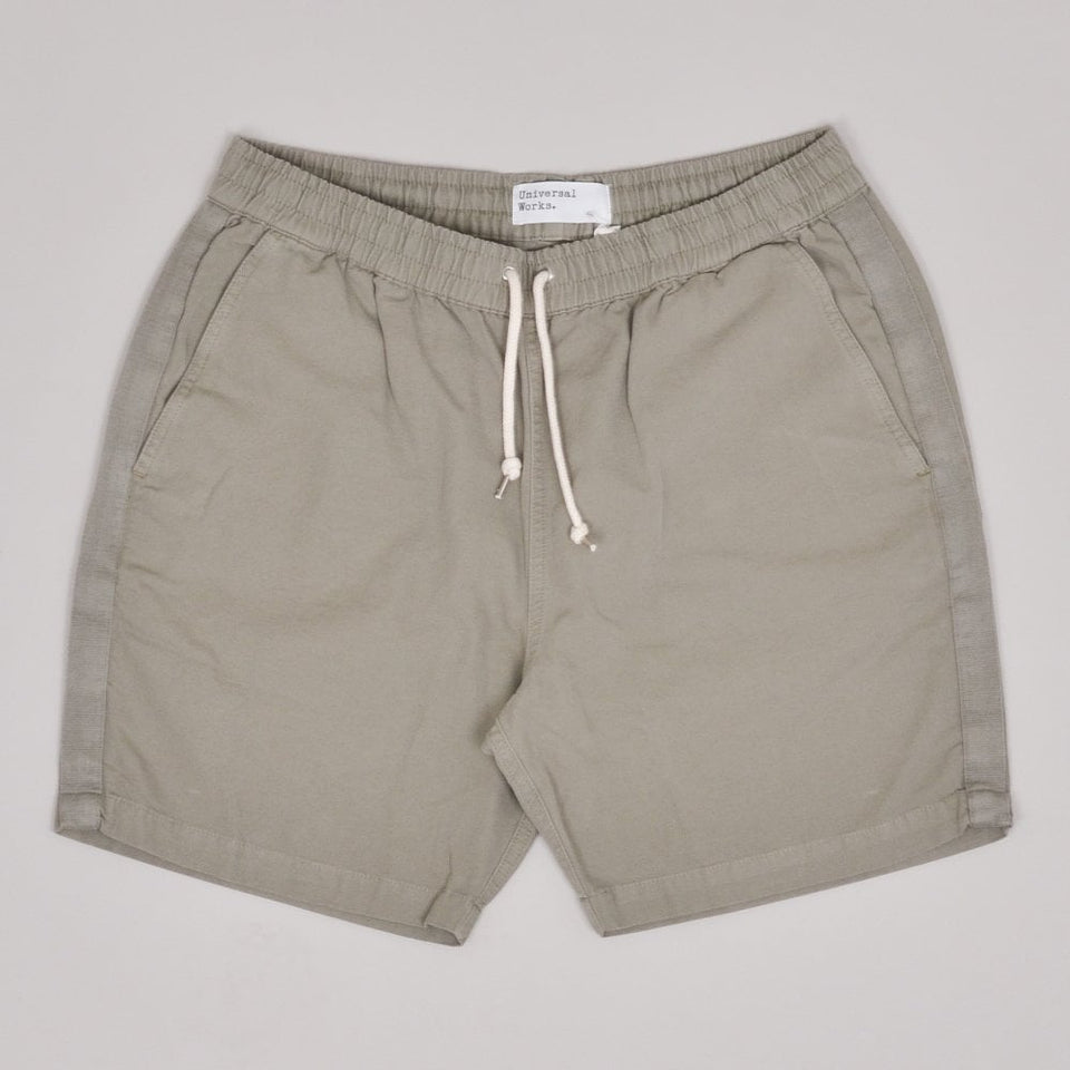 Universal Works Beach Short Canvas - Laurel