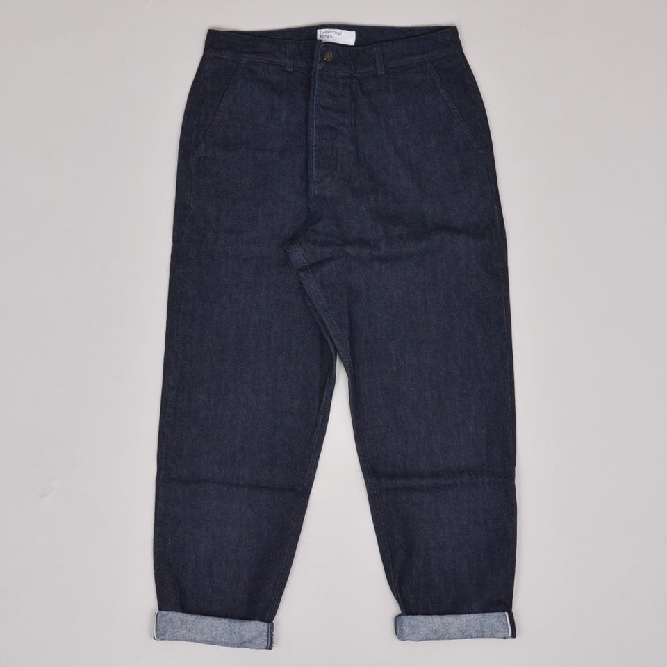 Universal Works Military Chino Selvedge Denim - Indigo