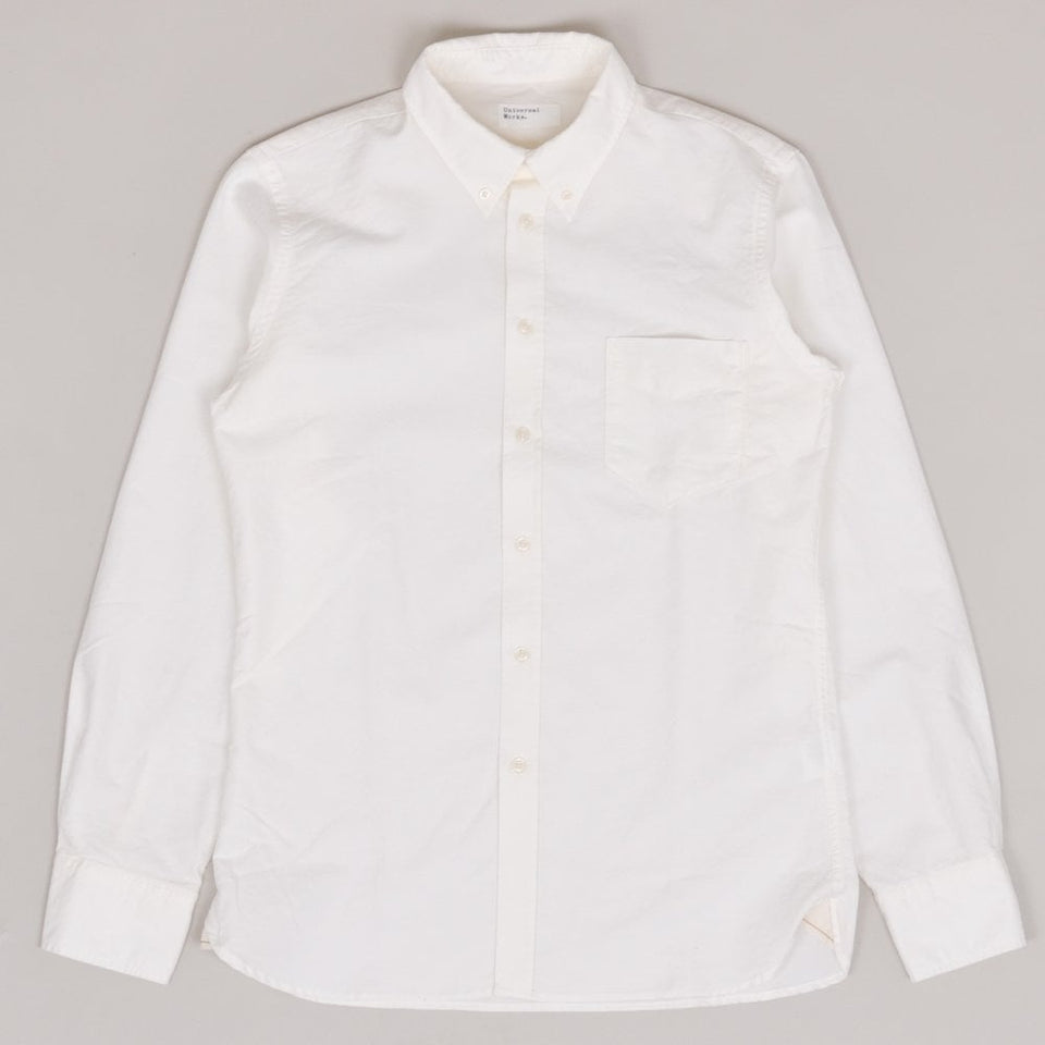 Universal Works Everyday Shirt Oxford - Ecru