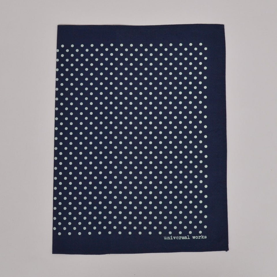 Universal Works Pocket Square - Navy