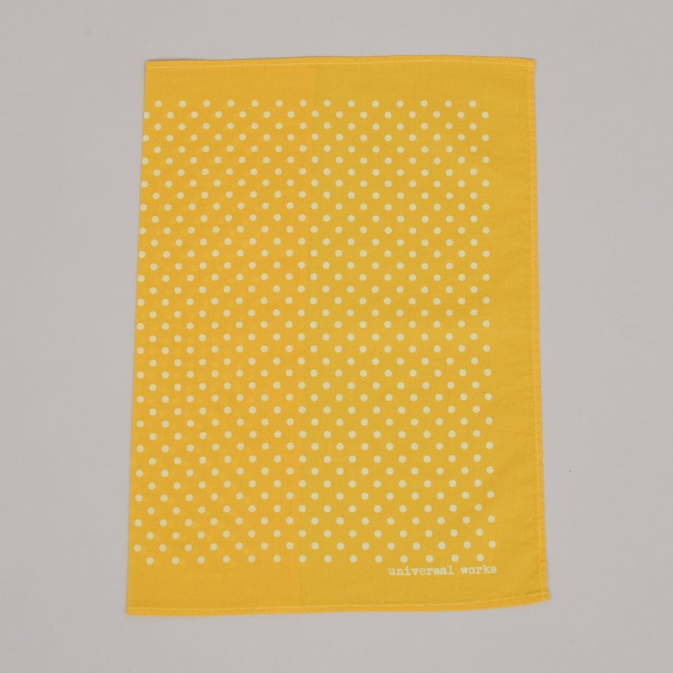 Universal Works Pocket Square - Yellow