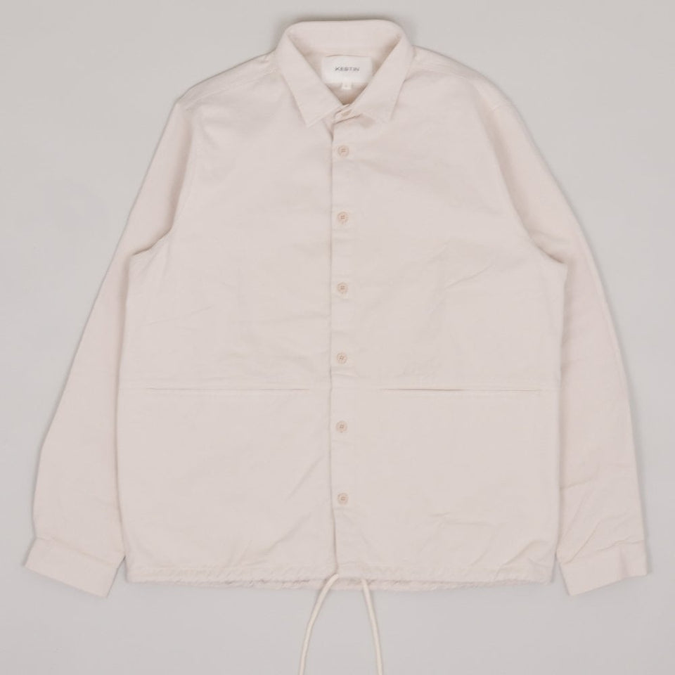 Kestin Armadale Overshirt - Off White