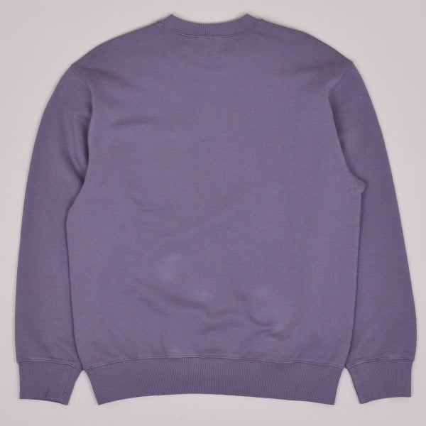 Carhartt WIP Pocket Sweatshirt - Decent Purple