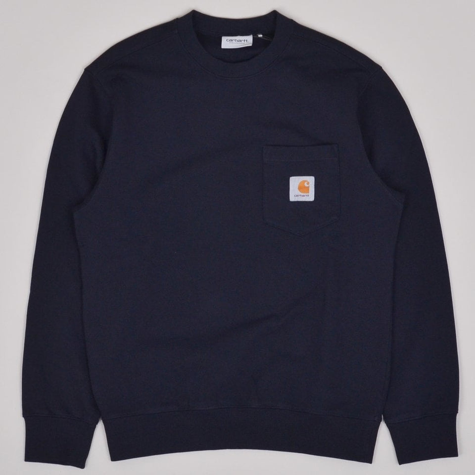 Carhartt WIP Pocket Sweatshirt - Dark Navy