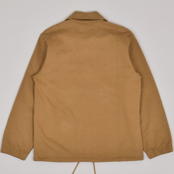 Margaret Howell Track Top Dry Loopback Jersey - Ochre