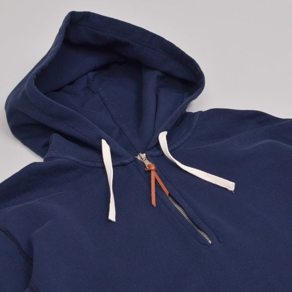 Albam Hooded Sweatshirt - Navy